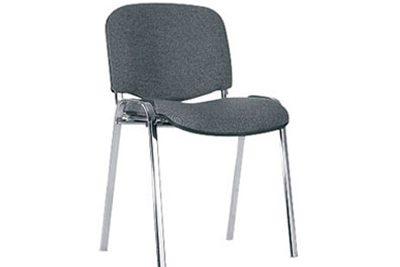 Аренда (прокат) конференционный стул ИСО с хромированным каркасом и мягкой сидушкой по 25 грн/сутки