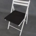 Прокат черной подушки для стула в Киеве
