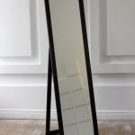 Прокат зеркало напольное черное в Киеве