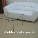 аренда белого дивана_прокат мебели