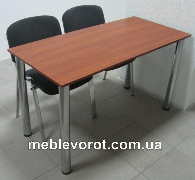 Аренда (прокат) стола конференционного  130*60 см на хромированных ножках по 75 грн/сутки