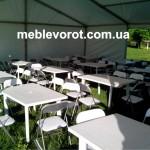 аренда мебели из пластика_прокат садовой мебели