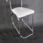 Прокат стульев барных белого цвета Йола