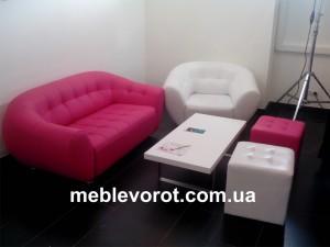 Аренда розового дивана_прокат дивана розового цвета