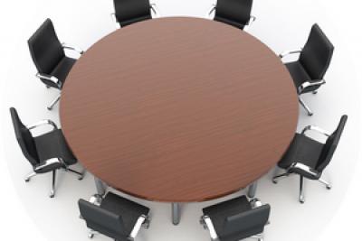 Аренда (прокат) круглого банкетного стола (без текстиля) диаметром 180 см по 149 грн/сутки
