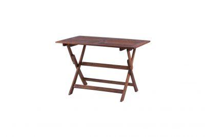 """Аренда ( прокат ) складного коричневого деревянного садового стола """"Меранти"""" 125*70 см по 250 грн/сутки"""