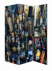 Аренда ширмы с фотопечатью Нью Йорк