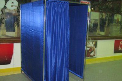 Аренда (прокат) мобильной кабинки-переодевалки по 500 грн/сутки