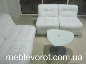 Аренда белого кресла_прокат мягкой мебели в киеве