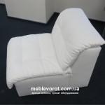 Аренда секционного белого кресла КЛУБ в Киеве