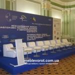 Прокат кресло Клуб белое Киев