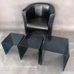 Прокат кресла Лиза черного Киев