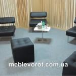 аренда мягкой мебели черного цвета