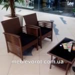 аренда комплекта ротанговой мебели_киев