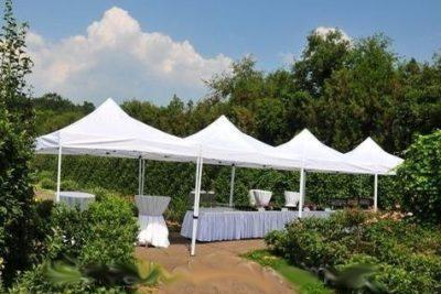 Аренда (прокат) белых быстро возводимых шатров 3*3 м по 599 грн/сутки