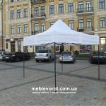 прокат шатров белых 3*3 м по Киеву