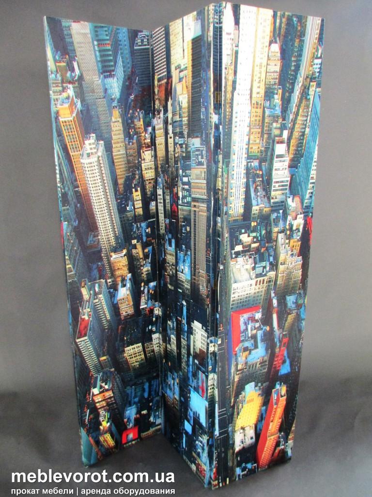Прокат ширмы с изображением Нью-Йорка Киев