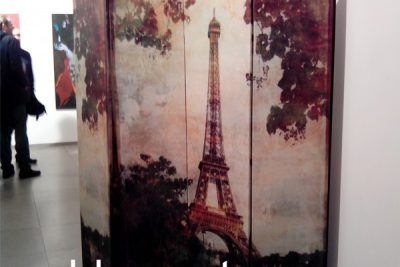 """Аренда (прокат) ширмы раскладной с фотопечатью """"Париж"""" по 350 грн/сутки"""