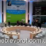 Аренда переговорного круглого стола_прокат мебели для конференций в Киеве