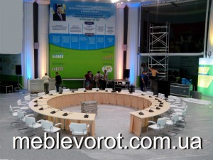 Аренда переговорного круглого стола_прокат мебели для конференций