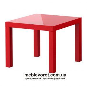 Аренда красного журнального столика