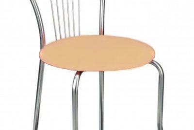 """Аренда (прокат) банкетных стульев """"Ванесса""""с бежевыми мягкими сидушками по 40 грн/сутки"""
