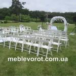 аренда белых свадебных стульев