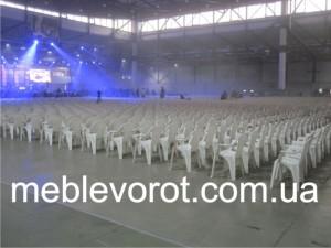 Аренда пластиковых стульев_прокат пластиковой мебели в Киеве