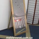 Аренда зеркал в золотой оправе в Киеве