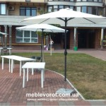 аренда белого зонта