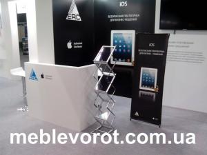 Аренда промо-стойки_прокат мебели для презентаций и выставок_киев