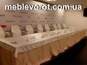 Аренда стола для президиума_прокат мебели для конференций