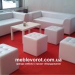 Прокат прямоугольного белого стола Икеа в Киеве