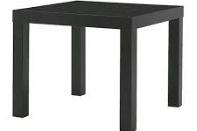 Аренда (прокат) черного квадро столика «ИКЕА»  по 150 грн/сутки