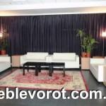 Аренда черного журнального столика_прокат мебели для лаунж-зон_Киев
