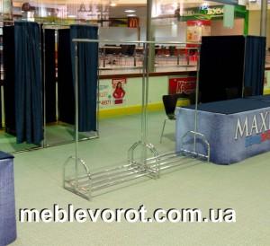 Аренда стойки гардеробной_прокат гардеробного оборудования_Киев