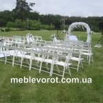 Прокат стульев свадебных деревянных в Киеве
