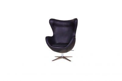 """Аренда (прокат) дизайнерского кресла """"Егг"""" (яйцо) черного цвета по 899 грн/сутки"""