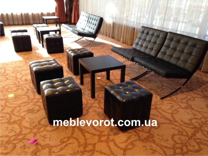 Аренда черного дивана_прокат дизайнерких диванов