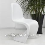 Прокат стул Пантон белый дизайнерский пластмассовый