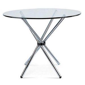 Аренда стола стеклянного_прокат столов_Киев