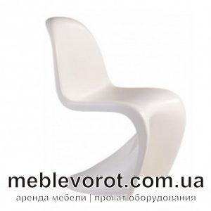 Аренда дизайнерского стула Panton_прокат дизайнеркой мебели_киев