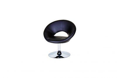 Аренда (прокат) кресла-стула Россвел черного цвета вертящегося для президиума по 249 грн/сутки