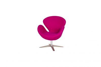 Аренда (прокат) дизайнерского кресла Свен розового цвета по 600 грн/сутки