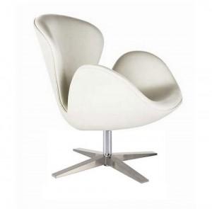 Аренда белого дизайнерского кресла_прокат элитной дизайнерской мебели_киев