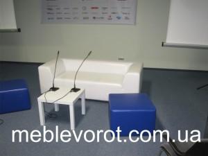 Аренда белого столика кофейного_прокат журнального стола_киев