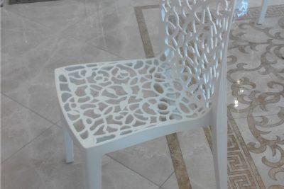 Аренда (прокат) дизайнерского стула Флора белого цвета по 150 грн/сутки