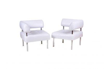 Аренда (прокат) белых секционных угловых диванов «Офис» по 250 грн/сутки за секцию