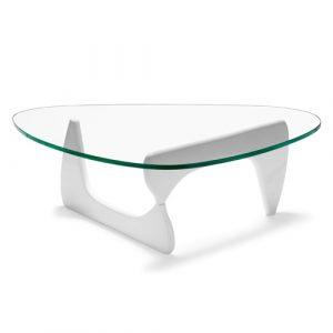 Аренда дизайнерского стеклянного стола Noguchi Table_прокат дизайнерской мебели_Киев