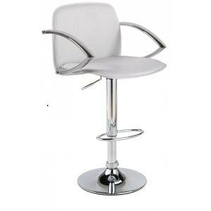 Аренда белого барного стула_прокат дизайнерской барной мебели_киев
